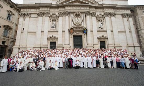 Rome 2016 le groupe (2)