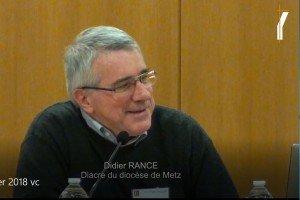 Interventions de Didier Rance CND 2018
