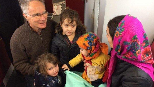 Francis Merckaert, diacre, médecin au service des migrants