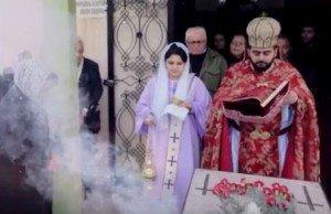 Téhéran - ordination d'une diaconesse Eglise arménienne apostolique