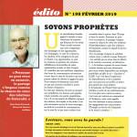 DIACONAT AUJOURD'HUI 198 édito