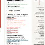 DIACONAT AUJOURD'HUI 198 Sommaire