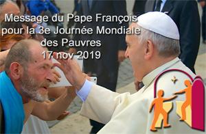 Message du pape