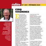 Diaconat Aujourd'hui n°204 édito